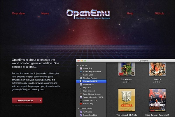 How to Perform Retro Games in Your Modern Mac Using OpenEmu