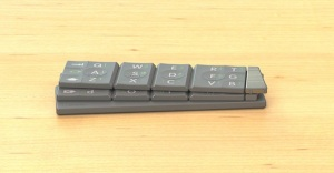 MICO Wars - US$99 TextBlade from WayTools is a Bluetooth Keyboard for Thumb-typists Bloggers covering Press Events - 16-01-2015 LHDEER (2)