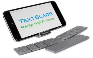 MICO Wars - US$99 TextBlade from WayTools is a Bluetooth Keyboard for Thumb-typists Bloggers covering Press Events - 16-01-2015 LHDEER (3)