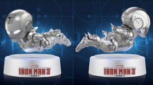 US$180 Egg Attack Iron Man 3 Mark II Magnetic Floating Version levitates on your desktop - 14-01-2015 LHDEER