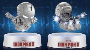 US$180 Egg Attack Iron Man 3 Mark II Magnetic Floating Version levitates on your desktop 2 - 14-01-2015 LHDEER