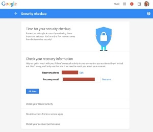 How to get 2 GB Extra on your Google Drive by doing a Security Checkup (2)