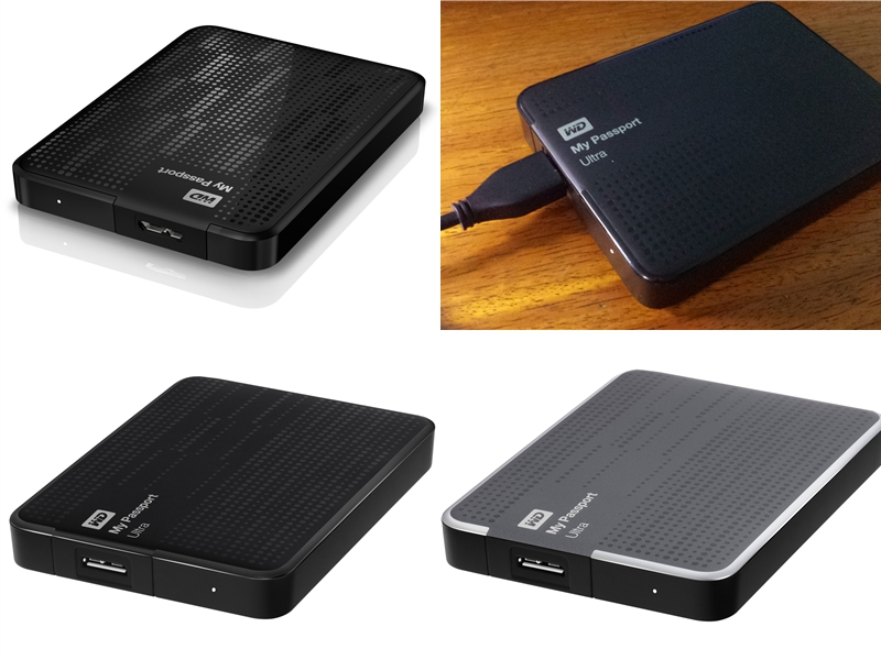 US$109 WD My Passport Ultra 2TB with Adobe Graphics Software