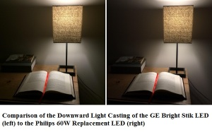 US$10 10W GE Bright Stik is the cheapest 60 W Replacement LED Bulb (4)