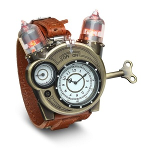 MICO Wars - US$59.99 Tesla Watch Steampunk Chronometer for that special Christmas Geek - 30-08-2015 LHDEER (2)