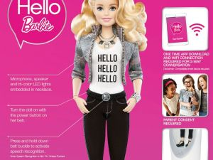 MICO Wars - US$79 Hello Barbie Doll to delight 6-y-o- girls this Christmas - 24-09-2015 LHDEER