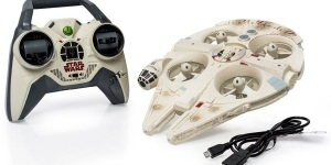 US$109 Millennium Falcon Drone and US$117 X-Wing Fighter are Drones for the Christmas (1)