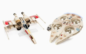 US$109 Millennium Falcon Drone and US$117 X-Wing Fighter are Drones for the Christmas (2)
