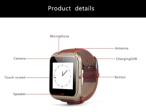 US$40 NT08 Smart Watch Phone helps you to keep track of your Children (1)