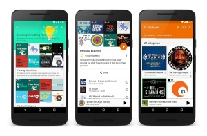 MICO Wars - How Google Play Music will allow Podcast Streaming for Podcast Publishers - 19-04-2016 LHDEER