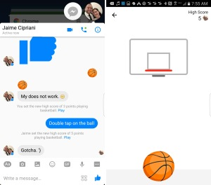 MICO Wars - How to play Facebook Messenger's Basketball and Football game for free Pizza coupons – 20-06-2016 LHDEER