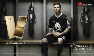 MICO Wars - Huawei Jamaica and Global Ambasador Lionel Messi is a Match made in Football Heaven - 29-06-2016 LHDEER