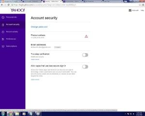 yahoo password  03