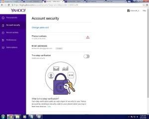 yahoo password  07