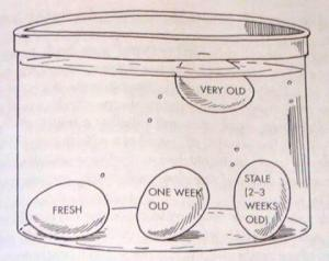 How to determine if Eggs are Fresh and How to make them last longer