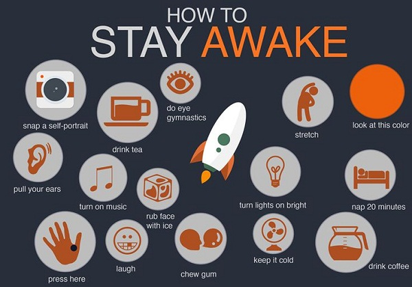 How To Stay Awake All Night For Study